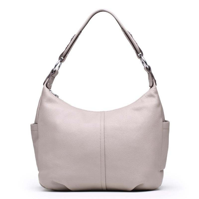 2018 New Charming Designer Genuine Leather Luxury Women Handbag High Quality Ladies Hobo Bags Shoulder Crossbody Bolsa Feminina