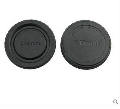 10 50 çift kamera gövde kapağı + arka Lens kapağı Pentax Q montaj Q S1 Q7 Q10 kamera lens takip numarası ile