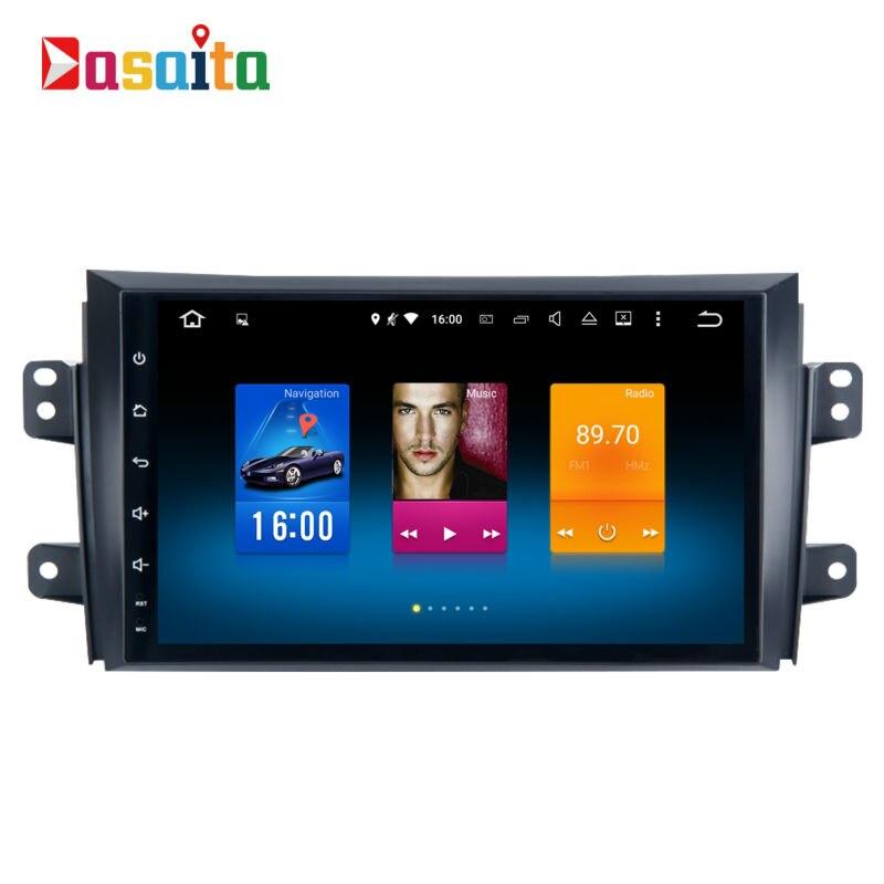imágenes para Coche 1 din GPS android para Suzuki SX4 2006-2011 navegación unidad principal autoradio multimedia 2 Gb + 32 Gb 64bit Android 6.0 PX5 8-Core