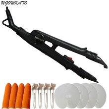 Фотография LOOF Pre Bonded Hair Extensions Fusion Iron 100-240V, Heat Gun Iron Connector Wand Keratin Bonding Tools 668B