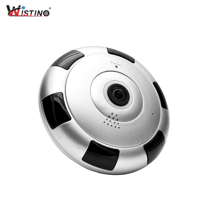 Wistino WIFI Baby Monitor VR Fisheye 960P Wireless IP Camera 360 Degree CCTV Video Security Camera Surveillance Mini Monitors цена