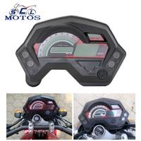 Sclmotos FZ16 Motorcycle Odometer LCD Gauge Digital Speedometer Tachometer for Yamaha FZ16 FZ 16 MAX 199km/h Racing
