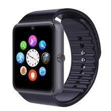GT08 NFC bluetooth Smart uhr unterstützung Sim TF caed GSM zifferblatt schrittzähler touch Uhren für Android Telefon PK GT88 U8 DM09 SmartWatch