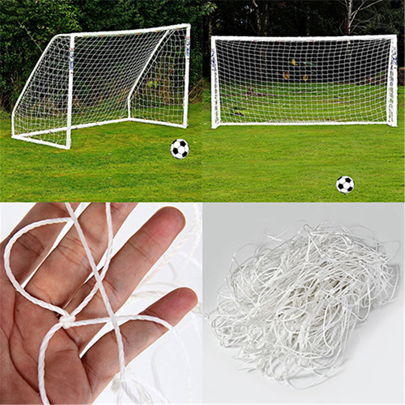 Football Net for Soccer Goal Sports Training Nets Mesh for Gates Size 1.8m x 1.2m for World Cup Russia 2018