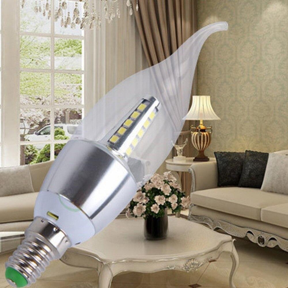 Super Bright Candle Shape LED Light Bulb 5W E14 ...