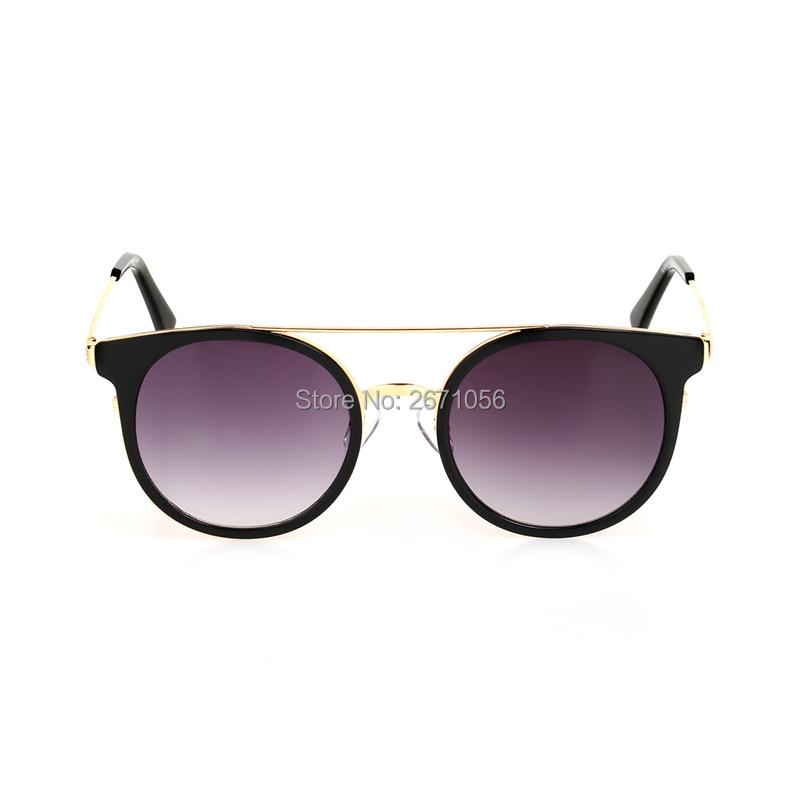 EE Round Sunglasses Women Brand Designer with Packing Box Oculos De Sol Feminino Retro Vintage Fashion Eyewear Female Sun Glass