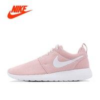 Original de la Nueva Llegada Oficial Nike Roshe Ejecutar Uno Transpirable Zapatillas Deportivas Zapatillas de deporte de Las Mujeres clásicas zapatos de Tenis al aire libre