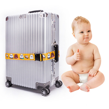 BABYlove Naked bear suitcase packing with travel case binding belt go abroad consignment password lock customs