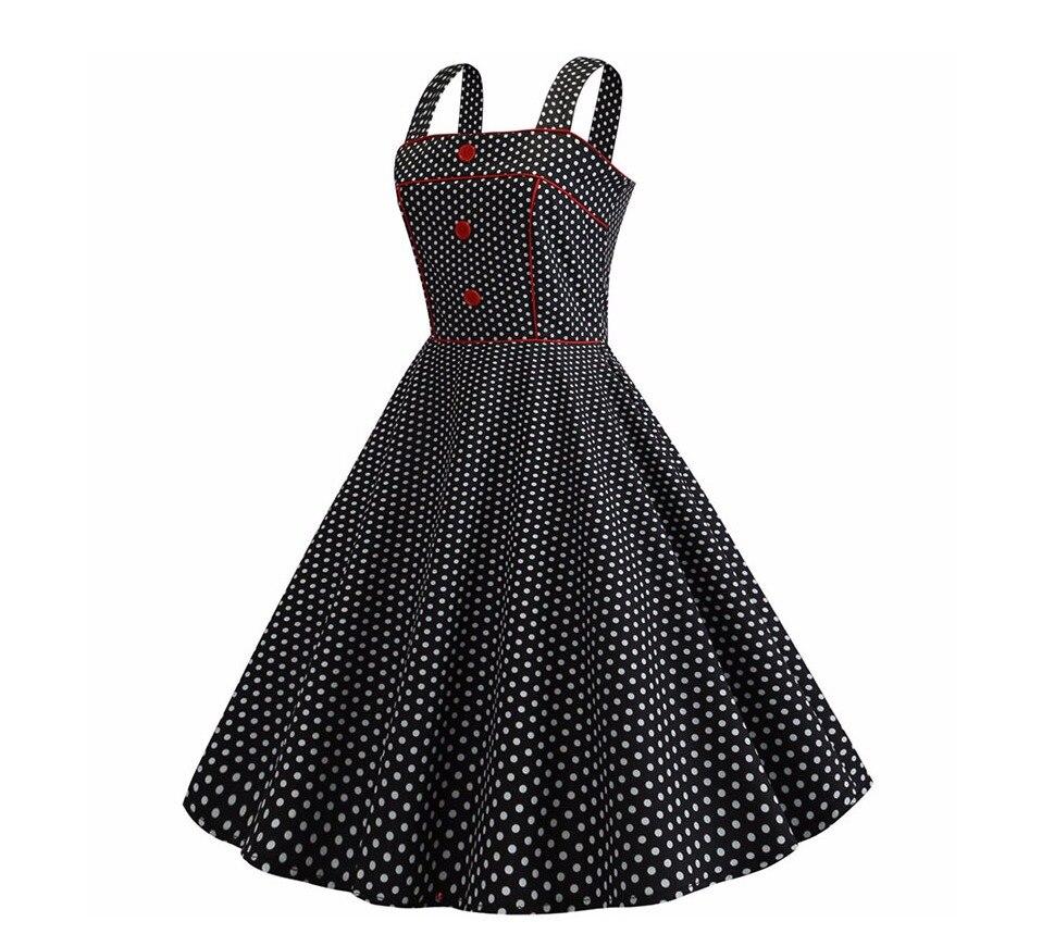 Koktejlové Retro párty šaty jednofarebné prešívaný lem bodky (5 variánt) 12