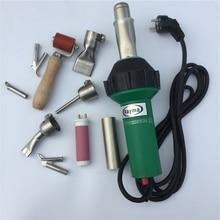 الأكثر مبيعا مجفف الشعر الساخن مسدس هواء 1600 واط/220 فولت/110 فولت الهواء الساخن آلة لحام البلاستيك الساخن الهواء لحام بندقية الصانع