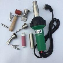 En çok satan saç kurutma makinesi sıcak hava tabancası 1600W /220V/110V sıcak hava KAYNAK MAKINESİ plastik sıcak hava kaynak tabancası üreticisi