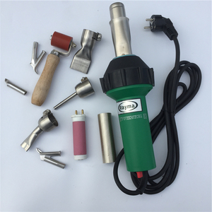 Image 1 - En çok satan saç kurutma makinesi sıcak hava tabancası 1600W /220V/110V sıcak hava KAYNAK MAKINESİ plastik sıcak hava kaynak tabancası üreticisi