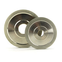 1 Piece Flat Diamond Coated Abrasive Wheel For Tungsten Carbide D150 Hole 32mm Grit 80 600