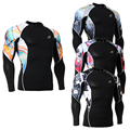 Men Thermal Tshirt Muscle Men Bodybuilding Youth Compression Tights Shirt Newest Rash guard Male Long Sleeve Tees 5 Star