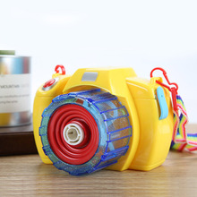 Besegad Kids Machine Electric Camera Shaped Handy Bubble Blowing Show Bubbles Toys Light And Music Children Day Birthday Gifts