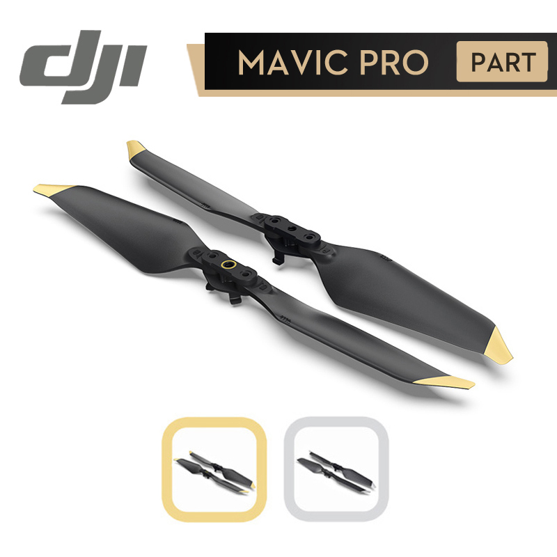 DJI Mavic Pro Platin 8331 Propeller Low-Noise Quick-Release Propeller für Mavic Pro Original Zubehör 1 Paar
