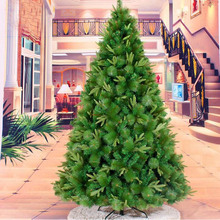 2.4m/240cm Superior High Quality Artificial Christmas Xmas Tree Upscale Mixed Pine Needles Trees For Home Hotel Deocr ZA1175