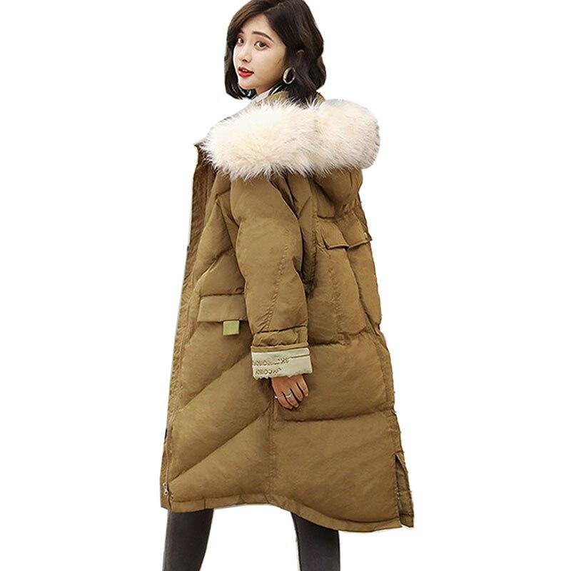 2018 Fashion New   Parkas   Female Women Winter Coat Thick Cotton Winter Jacket Womens Outwear   Parkas   for Women Winter down jacket