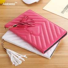 Alabasta for Capa iPad Pro 9.7 case 2016 Release Coque PU Leather Skin Rhinestone Bag Tablet Case Smart Stand Cover With stylus