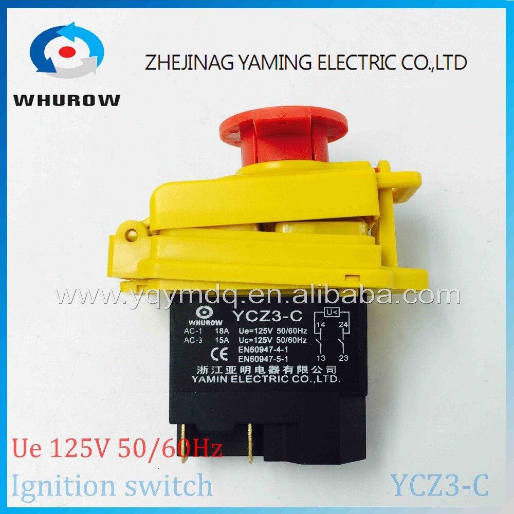 Interruptores e Relés água ycz3-c parada de emergência Modelo Número : Ycz3-c