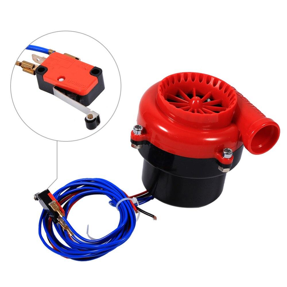 Coche Volcado Falsificación Electrónica Kit de Turbo Blow Off Válvula BOV Simula