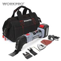WORKPRO 18V Lithium ion Multi Oscillating Tool Power Multi Tools Electric Trimmer Saw EU/US Plug