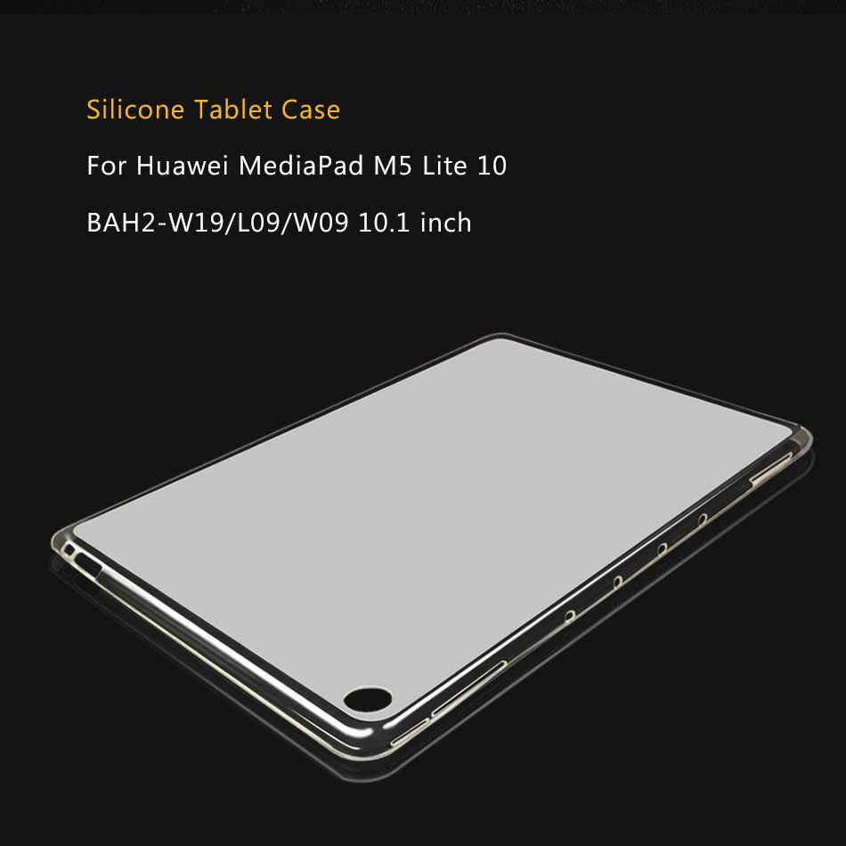 タブレットケース huawei 社 mediapad M5 M6 lite プロ 10.8 10 8.4/メディアパッド btv BTV-DL09 M3 lite M2 m2-801L 8.0 10.1 シリコンカバーケース