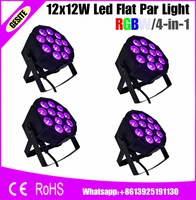 4pcs Lots 12pcs 12w Lamp Beads 12x12W Led Par Lights Professional Stage Dj Equipment