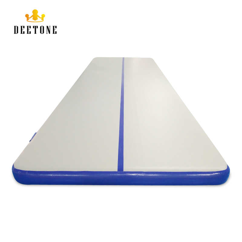 DEETONE 6M air track Inflatable Gymnastics Tumbling Air Track Mat with Pump  for Cheerleading / Practice Gymnastics / Beach/Park