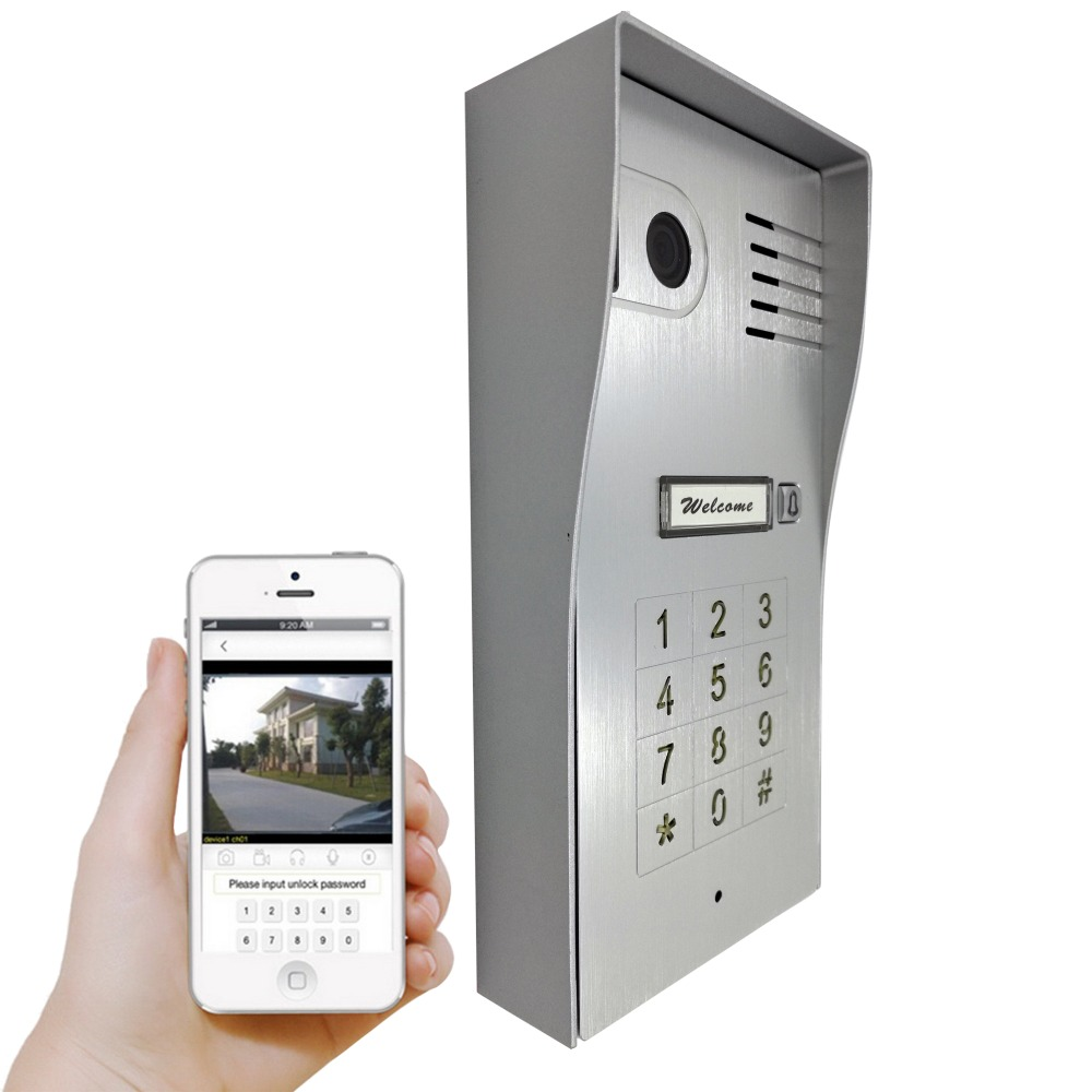 Genial Touch IP Wifi Global Video Door Phone WiFi Intercom System Two Way Intercom  And Remotely Unlock Door, Wireless Intercom System In Video Intercom From  ...