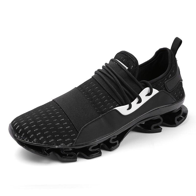 gray Calzado Casuales 47 Zapatos Negro Homme Casual De Los Hombres Chaussure Zapatillas Tamaño Hombre red Plus Transpirables 39 wTXA4qw5n
