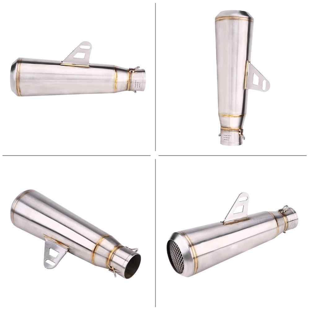 Yamah SANON 51mm//2in Motorcycle Muffler Tailpipe Motorcycle Exhaust Pipe for Hond Kawa Suzuk