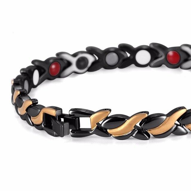 Купить лечебный магнитный браслет welmag для женщин рыба из нержавеющей