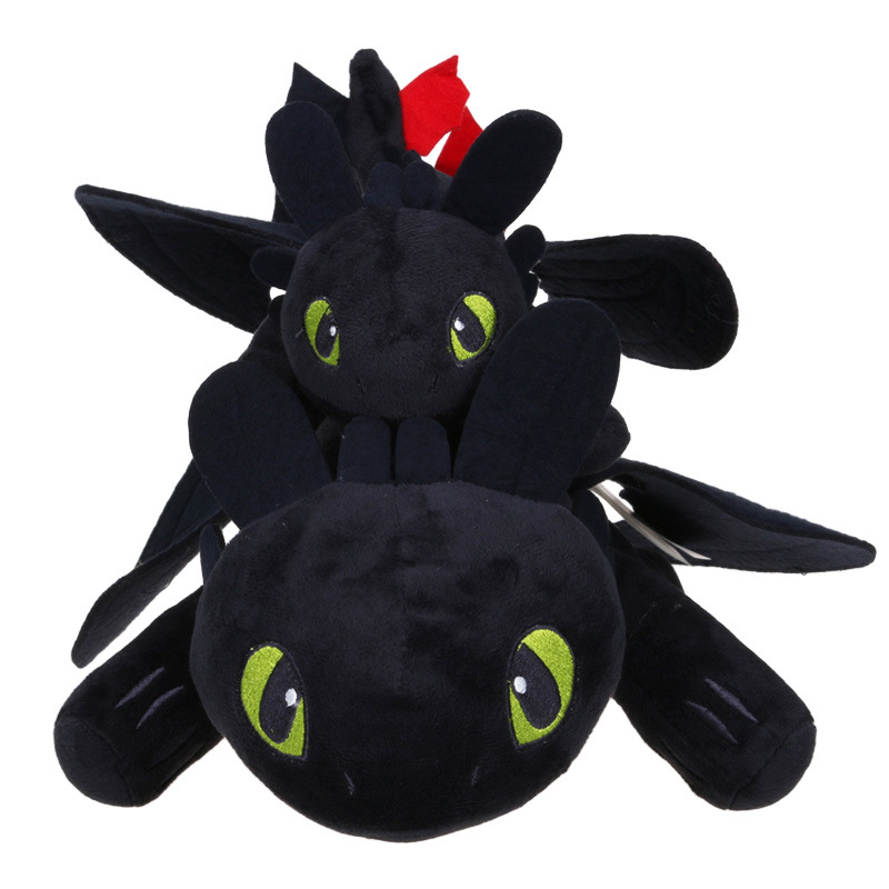2018 Cute Night Fury Plush Toy How To Train Your Dragon 2 Toothless Stuffed Animal Dolls In Movies TV From Toys Hobbies On Aliexpress