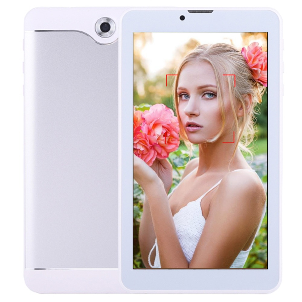 цена на ZONNYOU Tablet 7 inch DUAL SIM Card 3G Phone Call Tablets Android 7.0 Tablet PC IPS screen GPS WIFI 8GB ROM Quad Core