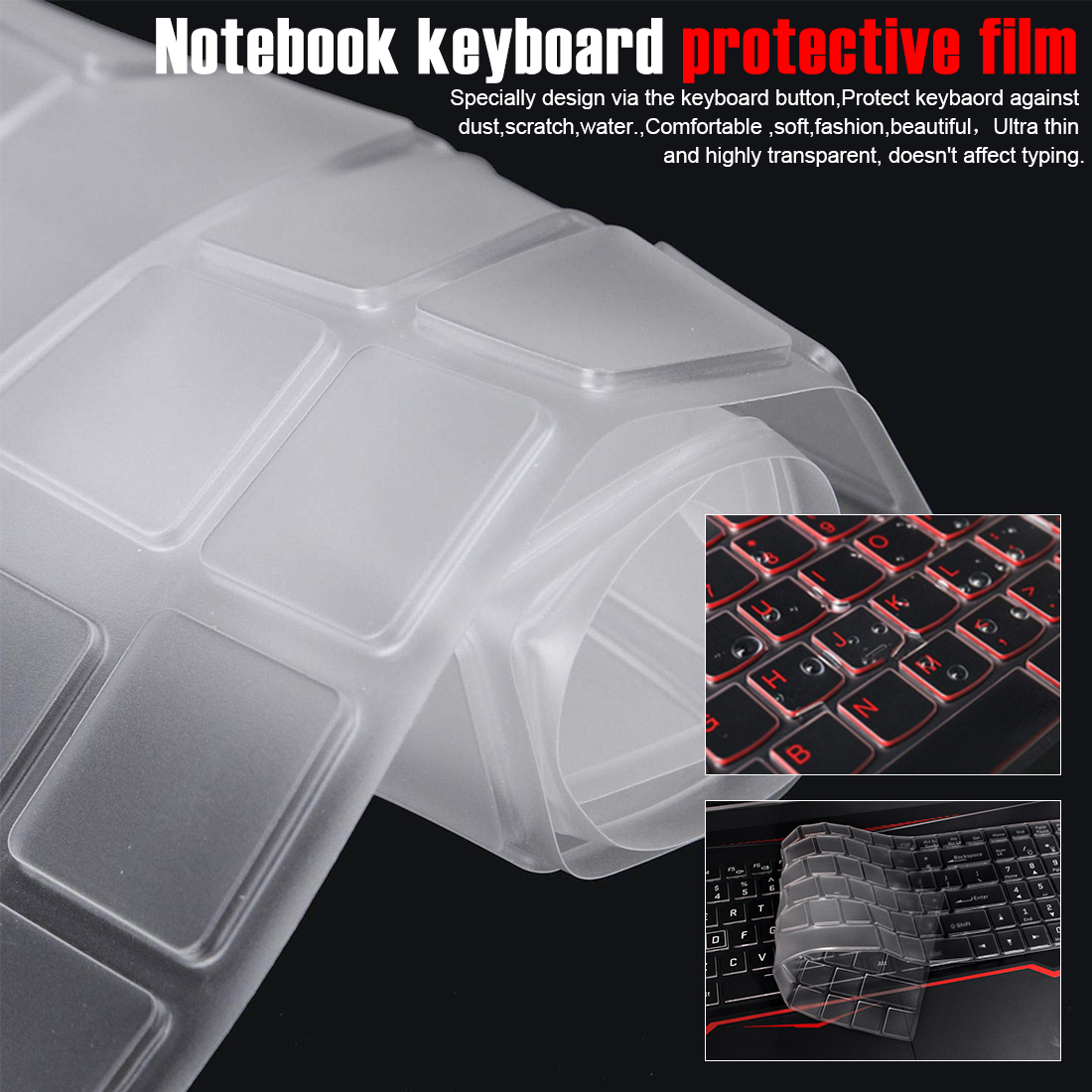 Keyboard Cover Waterproof Laptop Protect Film For MSI GE62 GE72 GS60 GS70 GT72 GL62 PE60 GS63 Notebook Soft Close Computer