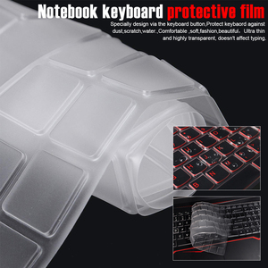 Keyboard Cover Waterproof Laptop Protect Film for MSI GE62 GE72 GS60 GS70 GT72 GL62 PE60 GS63 Notebook Soft Close Computer(China)