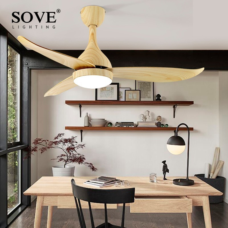 SOVE Modern LED Ceiling Fans With Lights Bedroom Home Black Ceiling Light Fan Lamp 220 Volt Fan Ceiling White Ventilador De Teto led ceiling lights for hallways bedroom kitchen fixtures luminarias para teto black white black ceiling lamp modern