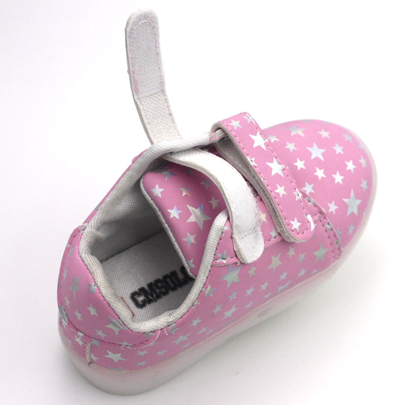 CMSOLO Zapatos deportivos de goma que brillan intensamente Led - Zapatos de niños - foto 5