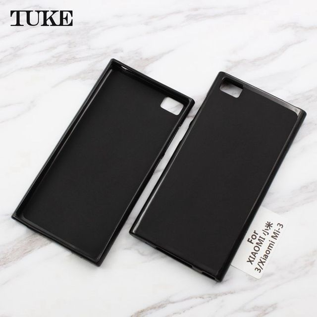 finest selection c85a8 ea68d US $2.9 13% OFF TUKE for Xiaomi Mi3 Mi 3 Case Cover Silicone Cover for  Xiaomi Mi 3 Soft TPU Back Case for Xiaomi Mi 4 5 6 Plus 5S Plus 5X A1 5C-in  ...