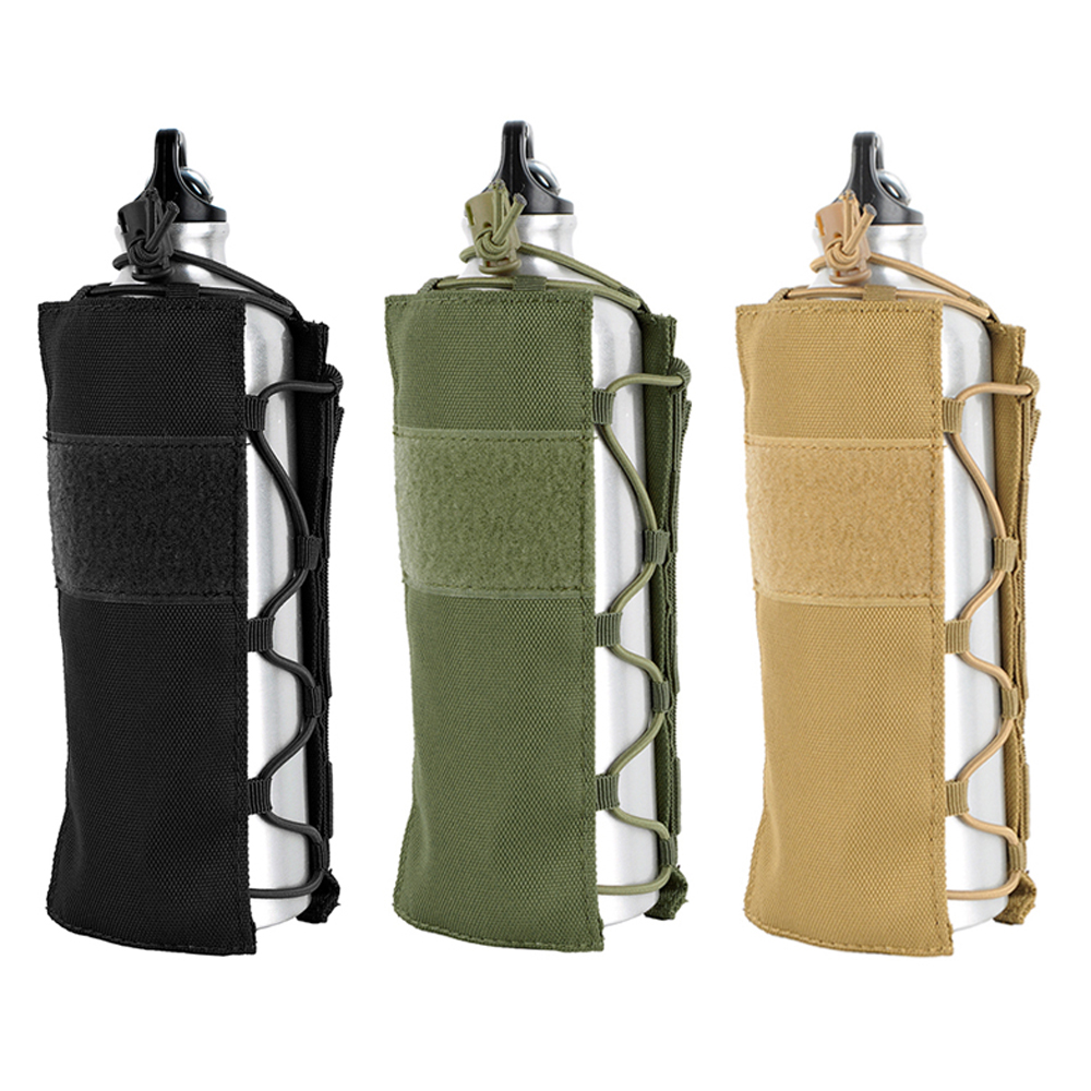Tactical Molle Water Bottle Pouch 1050D Nylon Military Canteen Cover Holster Outdoor Travel Kettle Bag 0.5L-2LTactical Molle Water Bottle Pouch 1050D Nylon Military Canteen Cover Holster Outdoor Travel Kettle Bag 0.5L-2L