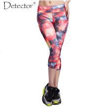 Women Yoga Pants Sports Force Exercise Tights Female Sports Elastic Fitness Running Trousers Slim Workout Leggings Capris