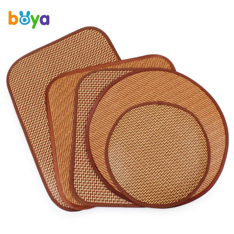 Boya Lovely Pet Cool Summer Pet Dog Sleeping Dog Nest Mat Matching With Grass Rattan Pet Mat For Dog Pet Products