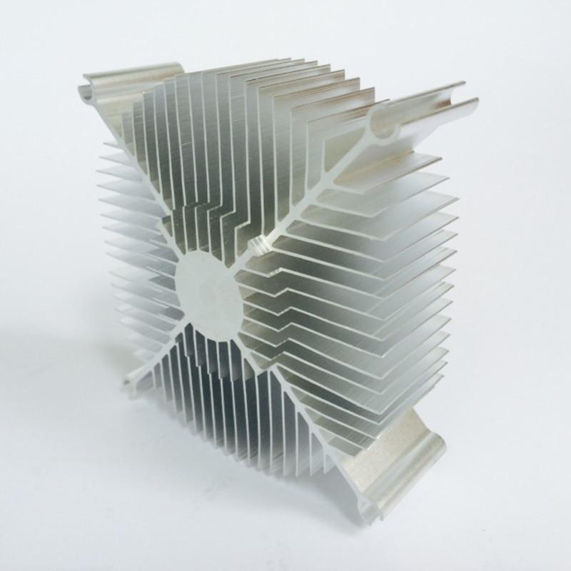 Disipador de calor LED Radiador Aluminio 86 * 78 * 30 mm Chip CPU GPU - Componentes informáticos - foto 6