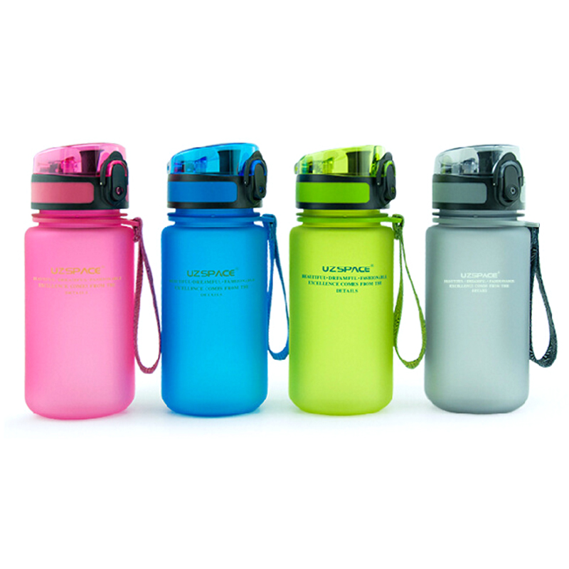2016 My Children's Favorite <font><b>Water</b></font> <font><b>Bottle</b></font> Plastic (350ml) BPA FREE Portable Cup With Flip Cap Lid For Kids School Sports