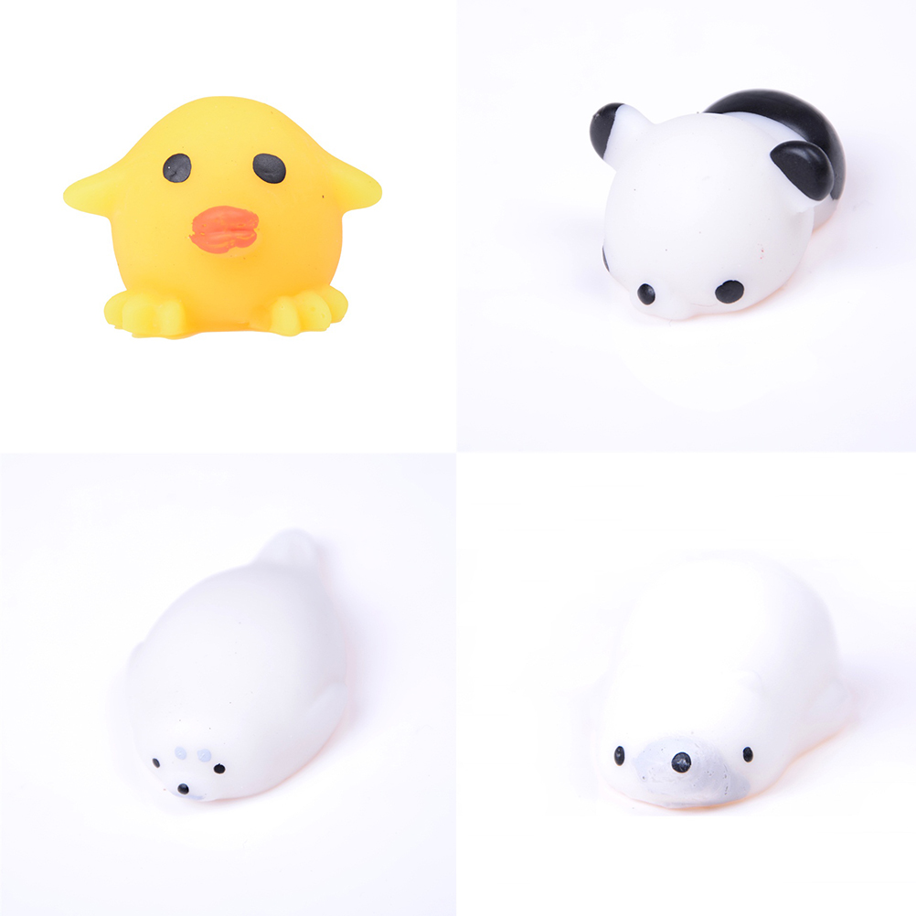 Steady Jinhf Soft Press Squeeze Kawaii Bread Kids Toy Squishy Cat/seal Lion/pig/sheep/duck/rabbit/chick Cute Phone Straps Slow Rising Mobile Phone Straps