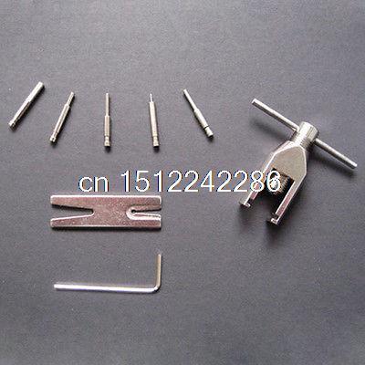 цена на Universal Motor Pinion Gear Puller Remover Tools Set - Silver