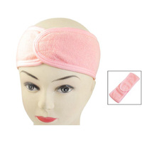 10x 2016 Pink Spa Bath Shower Make Up Wash Face Cosmetic Headband Hair Band