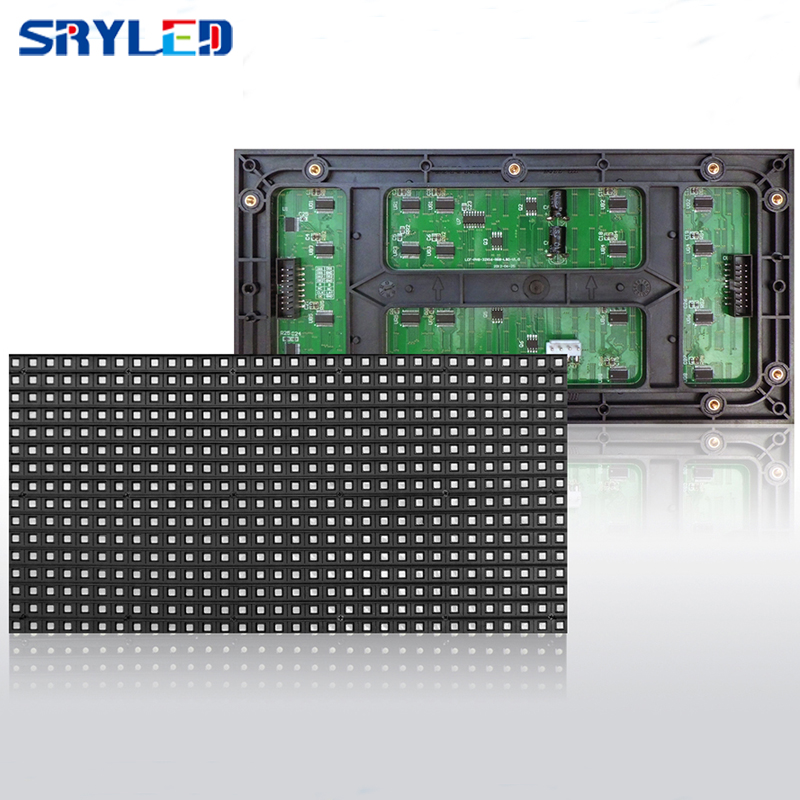 High Quality Display Board Material 256x128 32x16 P8 Outdoor Full Color LED Module Smd Led Module For Led Display Advertising