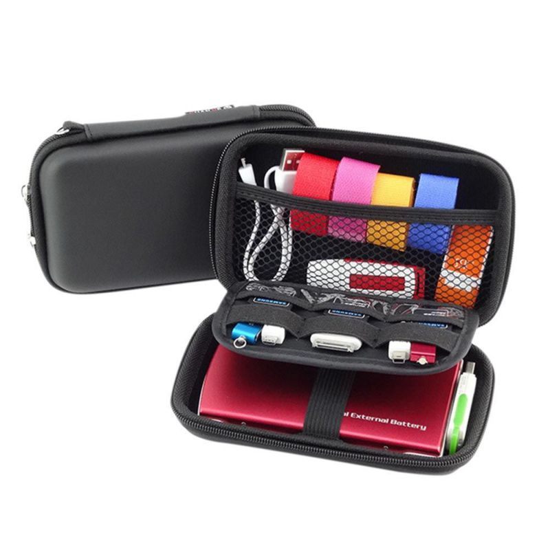 Waterproof Organizer USB Data Cable Earphone Wire Pen Power Bank Travel Storage Bag Kit Case Digital Gadget Devices